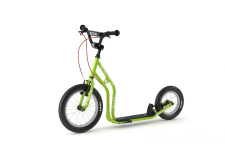 WZOOM Kinderroller Tretroller für Kinder grün