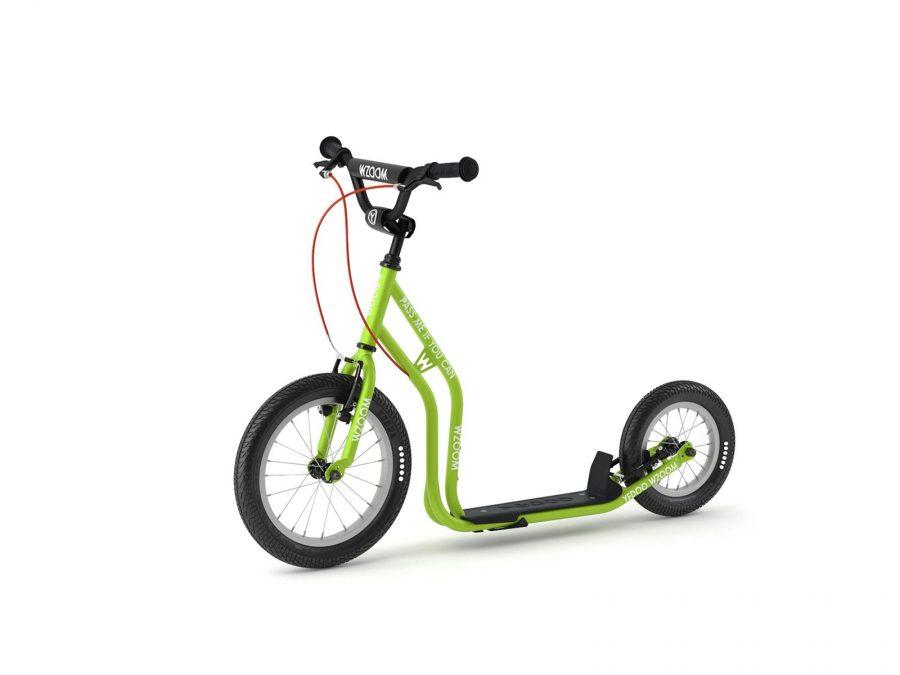 WZOOM Kinderroller Tretroller für Kinder grün