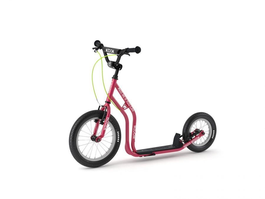 WZOOM Kinderroller Tretroller für Kinder pink