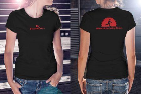 TretrollerLiebe-Shirt für Damen
