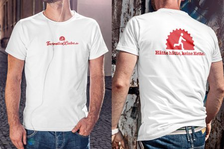 TretrollerLiebe-Shirt für Herren