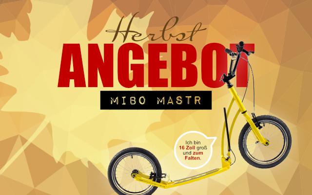 Angebot Mibo Mastr inkl. Schutzblech-Set