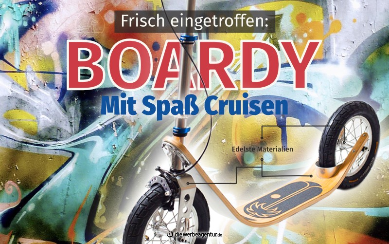 Tretroller Boardy Funroller