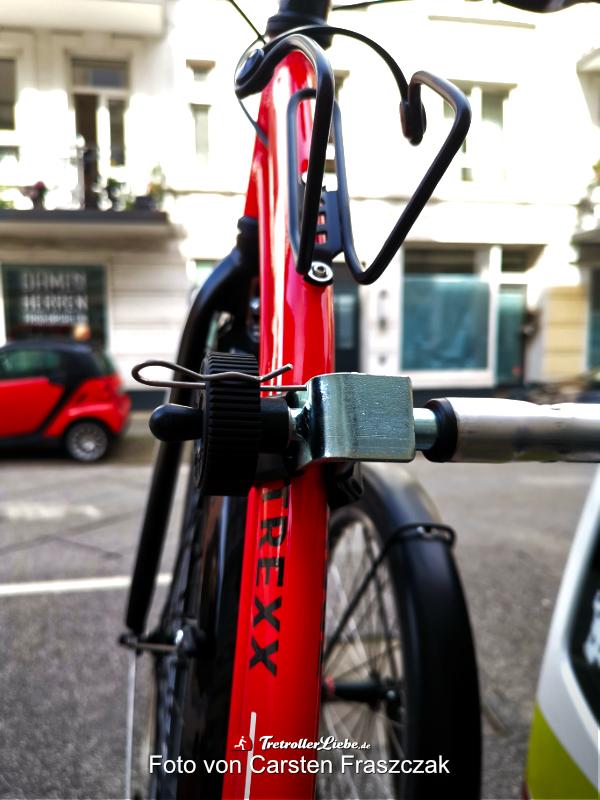 Der passende Fahrradträger zum Tretroller